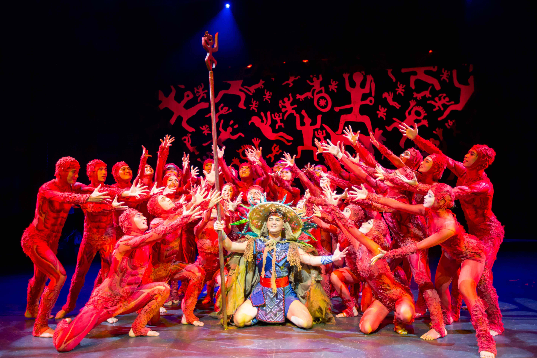 演出展览  广西歌舞团民族舞剧《花山》 壮族岩画音乐舞蹈诗剧《花山