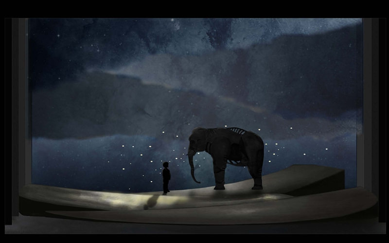 Commissioned Work:The Last Warrior Elephant by Shanghai Puppet Theatre