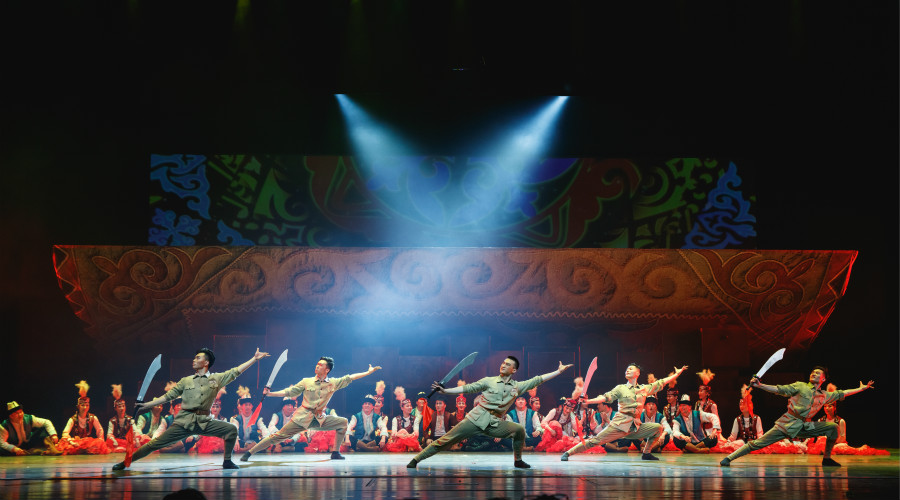 The Soul of Tianshan by Wuxi Song and Dance Theater