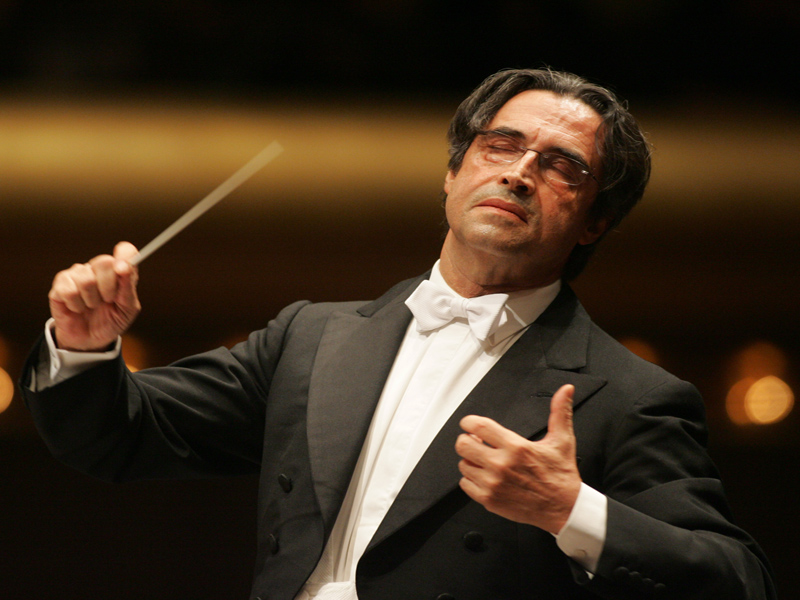 意大利著名指挥家穆蒂与上海交响乐团音乐会