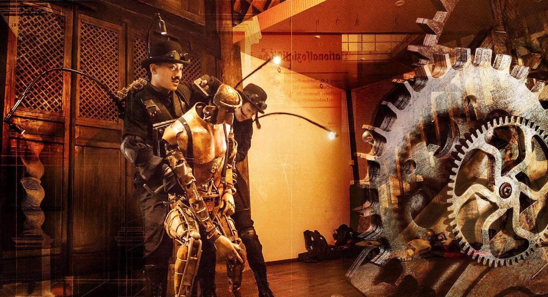 马良首部奇幻装置舞台剧《爸爸的时光机》