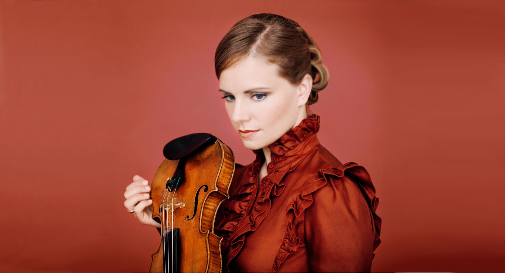 小提琴天后茱莉亚·费舍尔独奏音乐会